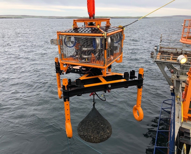 Global Offshore Installs Filter Unit Rock Bags